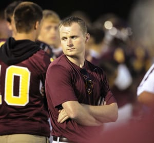 Monty Howell | Herald-Times A familiar mystery on the sidelines at North, Michael Koryta.
